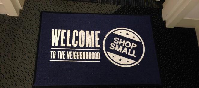 Apoyando los negocios del vecindario #SmallBizSat